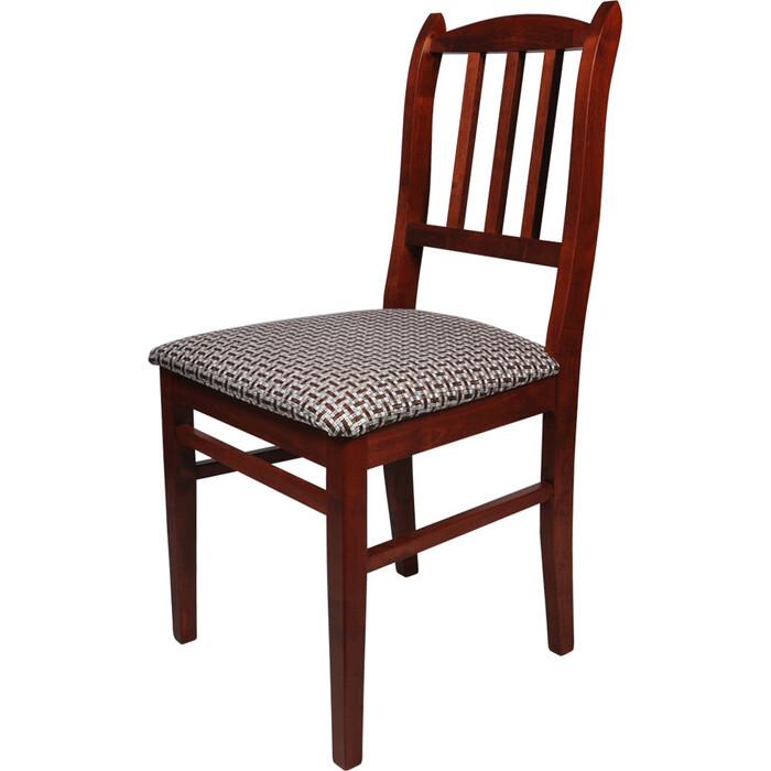 Фото - Стул Мебель-24 Гольф-1 вишня, обивка ткань рогожка корфу стул мебель 24 гольф 11 орех обивка ткань атина коричневая