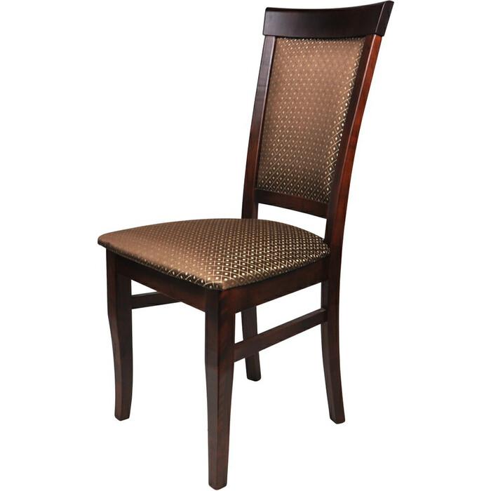 Фото - Стул Мебель-24 Гольф-15 орех, обивка ткань ромб коричневый стул мебель 24 гольф 11 орех обивка ткань атина коричневая