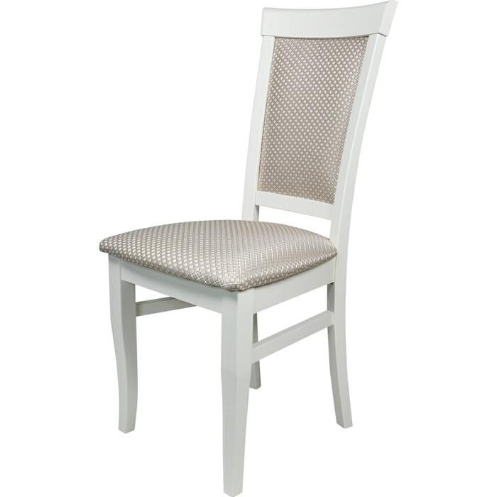 Фото - Стул Мебель-24 Гольф-15 слоновая кость, обивка ткань атина бежевая стул мебель 24 гольф 11 орех обивка ткань атина коричневая