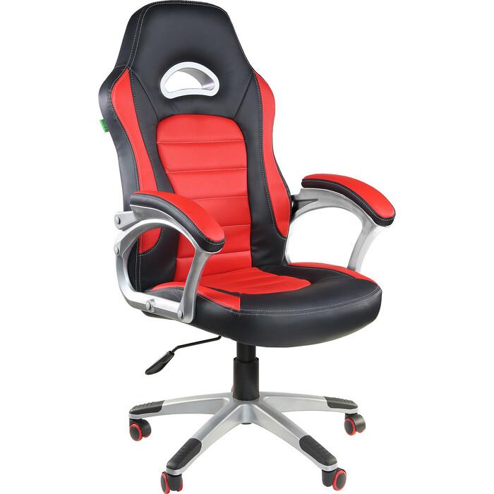 Кресло Riva Chair RCH 9167H черный/красный