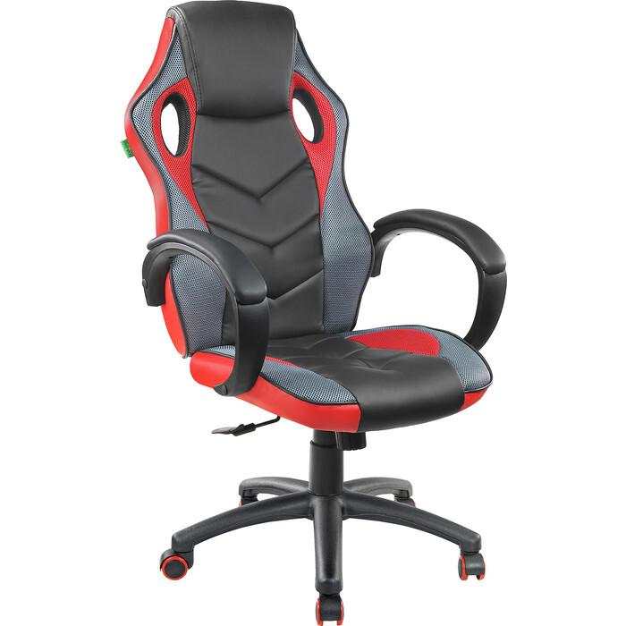 Кресло Riva Chair RCH 9381H черный/красный
