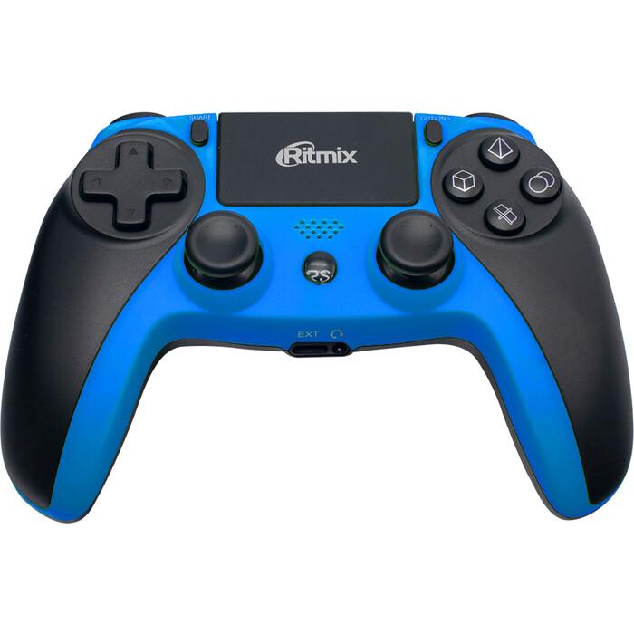 Геймпад Беспроводной Ritmix GP-063BTH black-blue