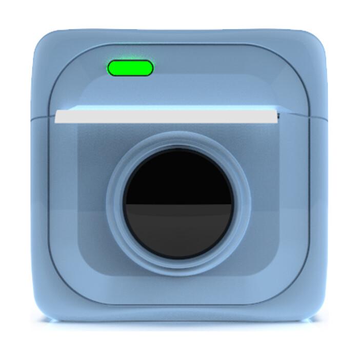 Портативный принтер для печати Ritmix RTP-001 blue
