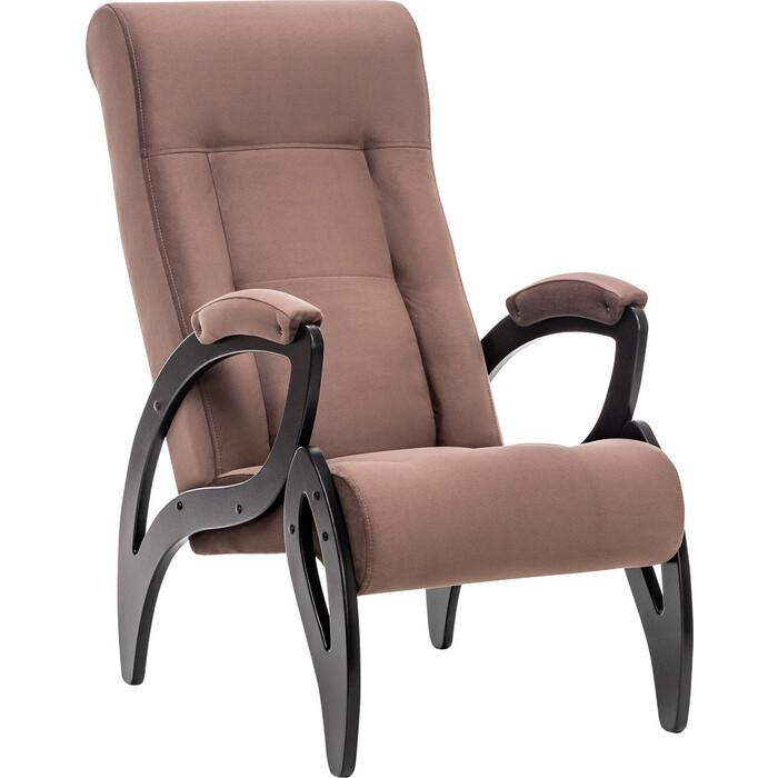 Кресло для отдыха Мебель Импэкс Модель 51 венге/венге ткань verona brown