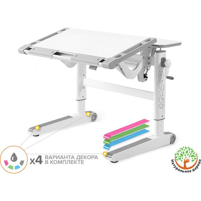 Детский стол Mealux Ergowood-L W Multicolor BD-810