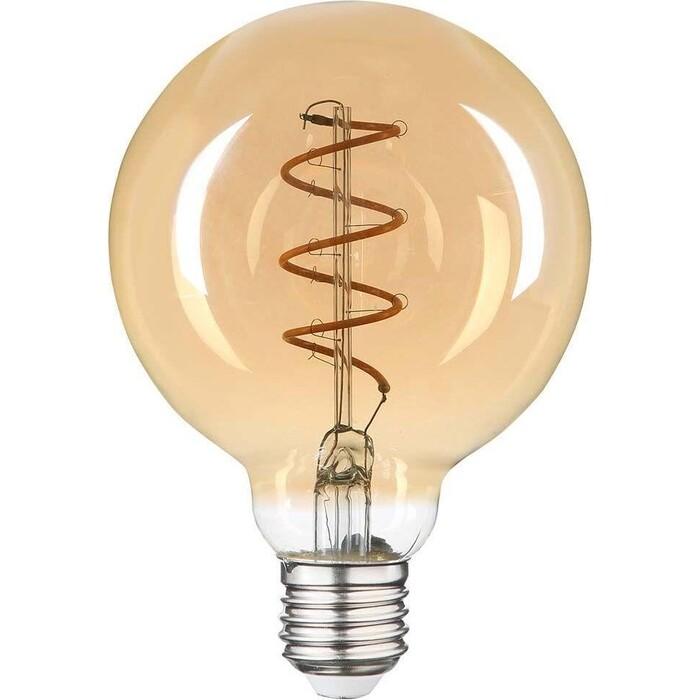 Лампа Hiper светодиодная филаментная E27 6W 2200K янтарная HL-2220