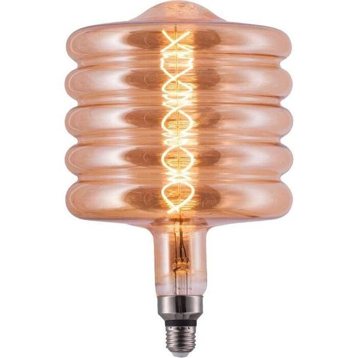 Лампа Hiper светодиодная филаментная E27 6W 2700K янтарная HL-2256