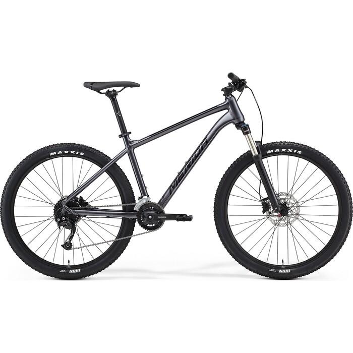 Фото - Велосипед Merida Big.Seven 100-2x (2021) антрацитовый M велосипед merida ride cf team 2014
