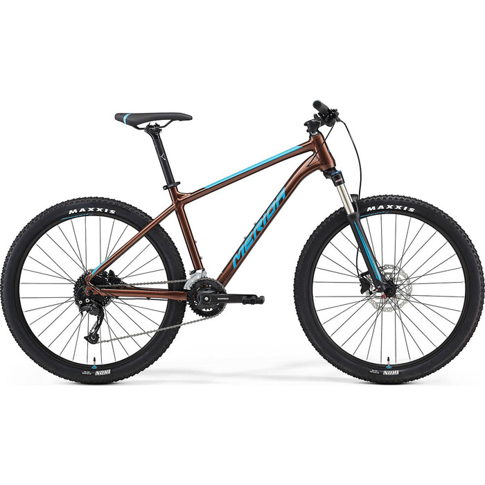 Фото - Велосипед Merida Big.Seven 100-2x (2021) бронзовый L велосипед merida ride cf team 2014