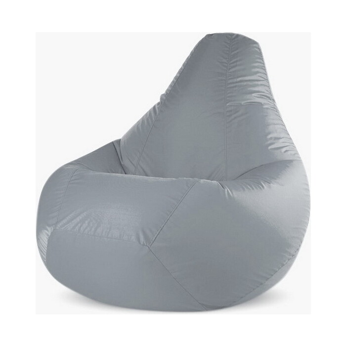 Кресло-мешок PUFOFF XXXL Grey Oxford