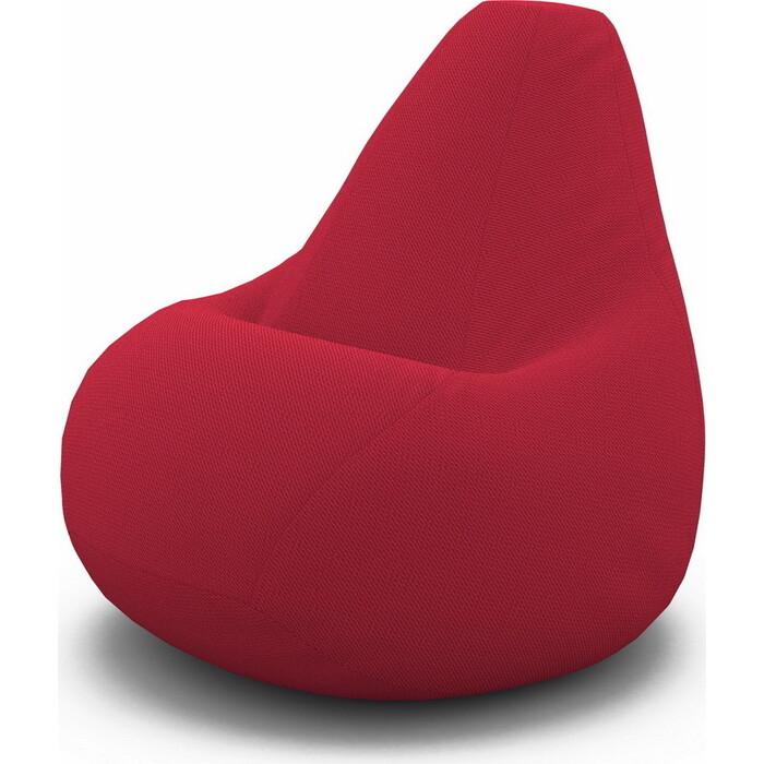 Кресло-мешок PUFOFF XXL Tori Red