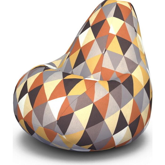 Кресло-мешок PUFOFF XXL Diamond Orange