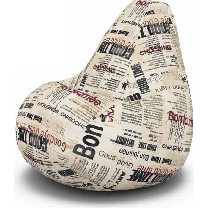Кресло-мешок PUFOFF XXL Newspaper