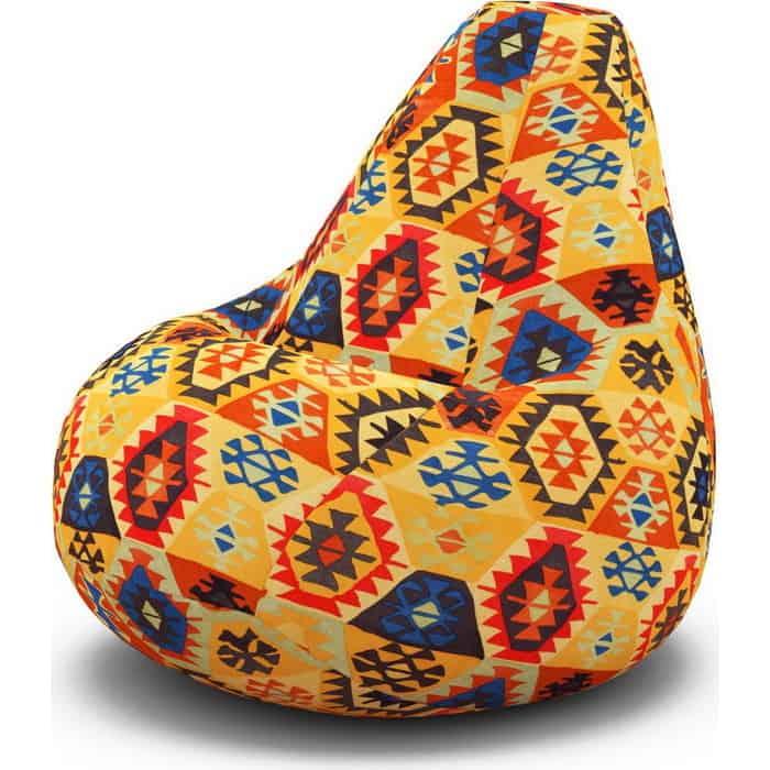 Кресло-мешок PUFOFF XXL Mehico Orange