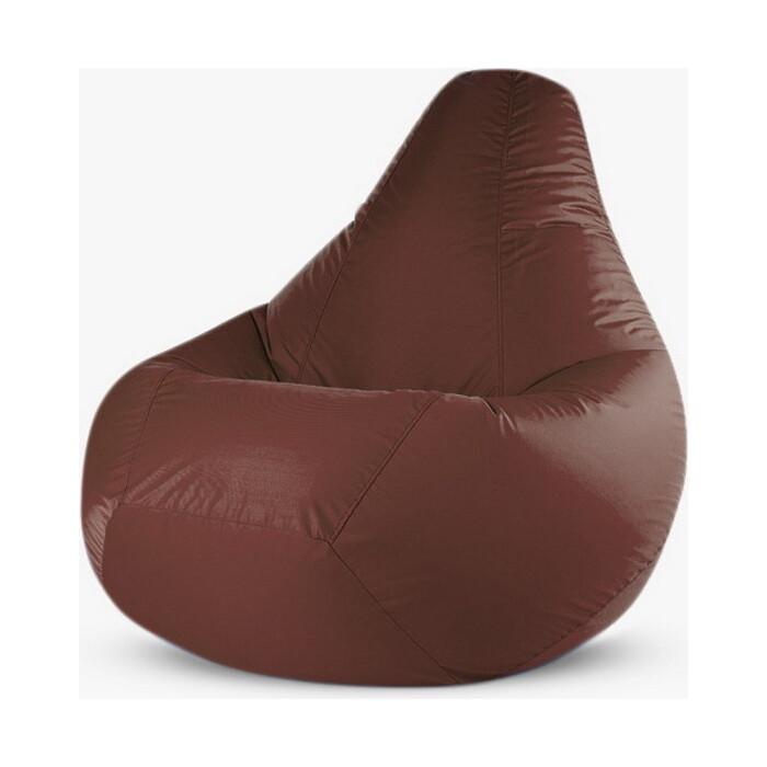 Кресло-мешок PUFOFF XL Brown Oxford
