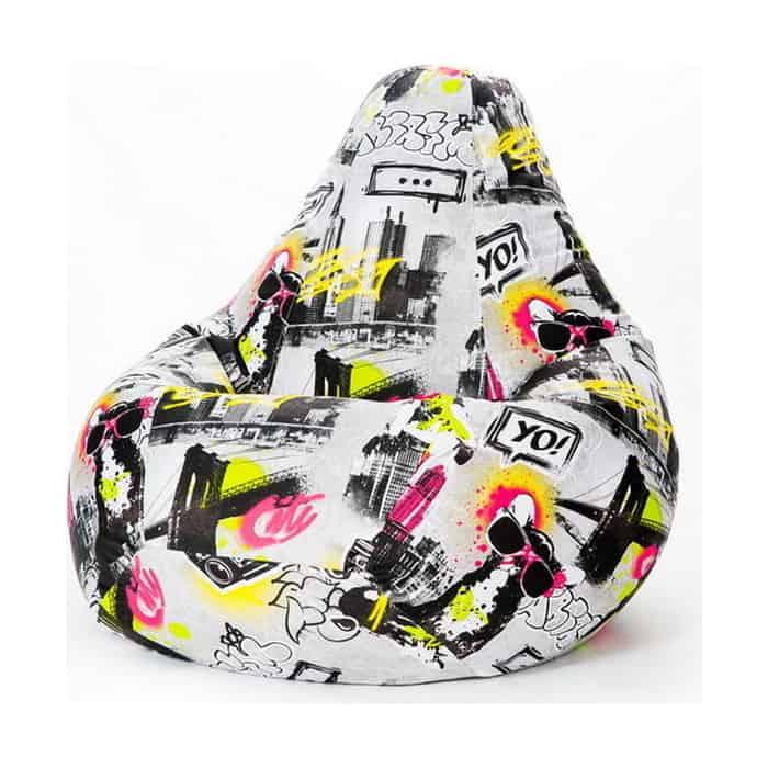 Кресло-мешок PUFOFF XL Dogs Art
