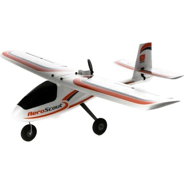 Радиоуправляемый самолет HobbyZone AeroScout S 1.1m RTF - HBZ3800