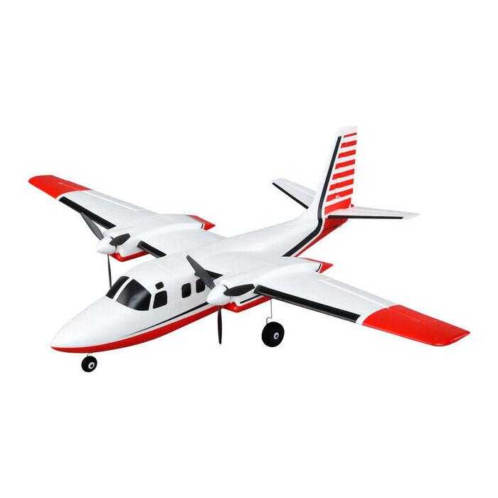 Радиоуправляемый самолет E-Flite UMX Aero Commander BNF Basic with AS3X - EFLU5850