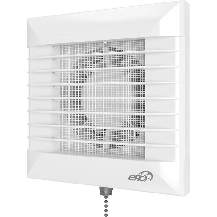 Фото - Вентилятор Era Euro D 100 с антимоскитной сеткой (EURO 4S-02) вентилятор вытяжной осевой накладной 100мм euro 4s 02 белый с моск сеткой и тяговым выключ эра