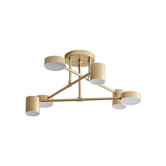 Люстра Kink Light Потолочная светодиодная Мекли 07649-6A,33 люстра kink light потолочная светодиодная мекли 07649 6a 33