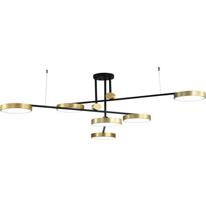 Люстра Kink Light Потолочная светодиодная Рапис 07647-6,20(4000k) люстра kink light потолочная светодиодная мекли 07649 6a 33