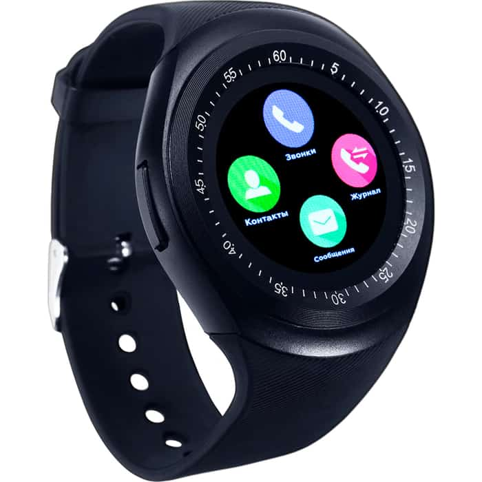 Умные часы Smarterra SmartLife R (1.54 IPS) черный smarterra smartlife kids light blue sm slkb