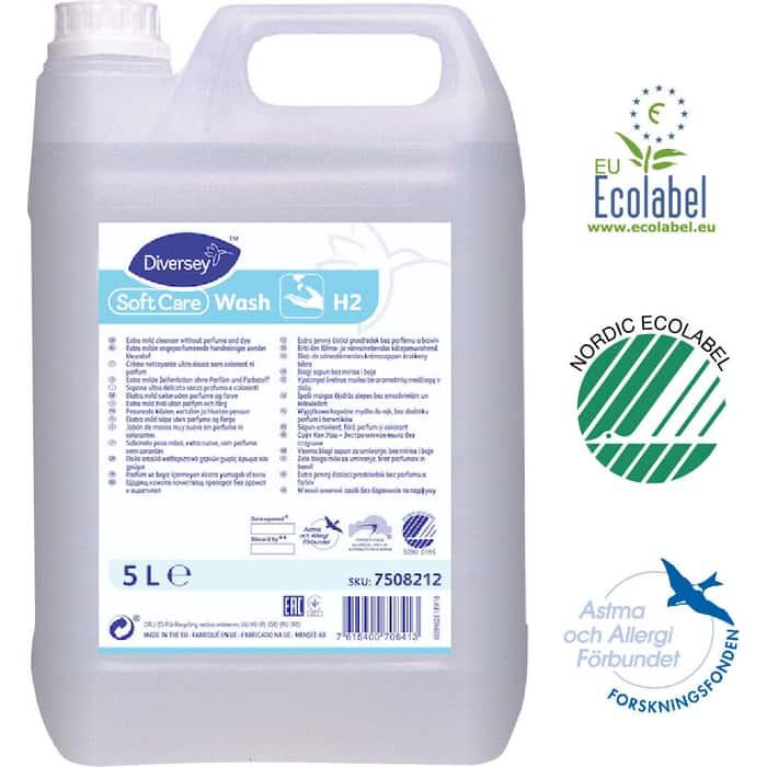 Жидкое мыло Soft Care Wash для особо чувствительной кожи рук 5 л