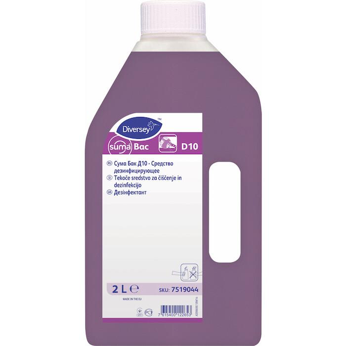 Дезинфицирующее средство Suma Bac D10 2 л