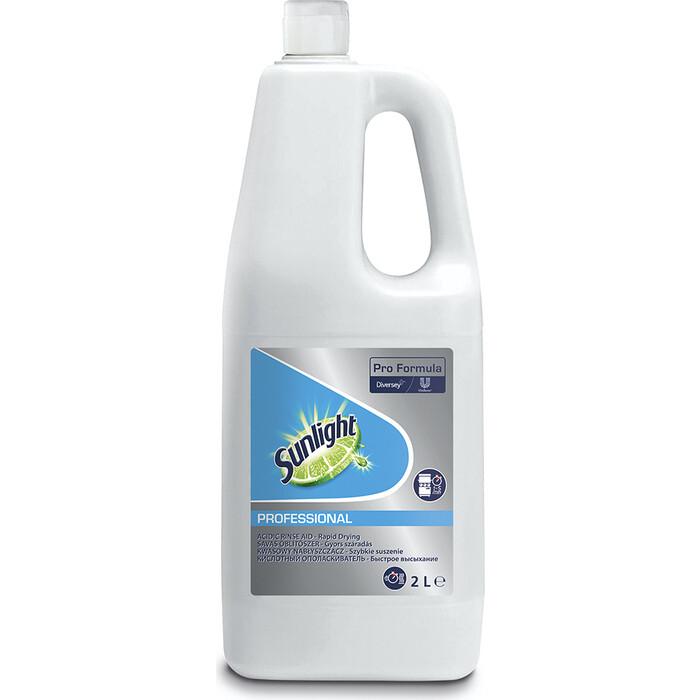 Ополаскиватель для посудомоечной машины (ПММ) SUN Professional Rinse Aid Acidic, 2 л