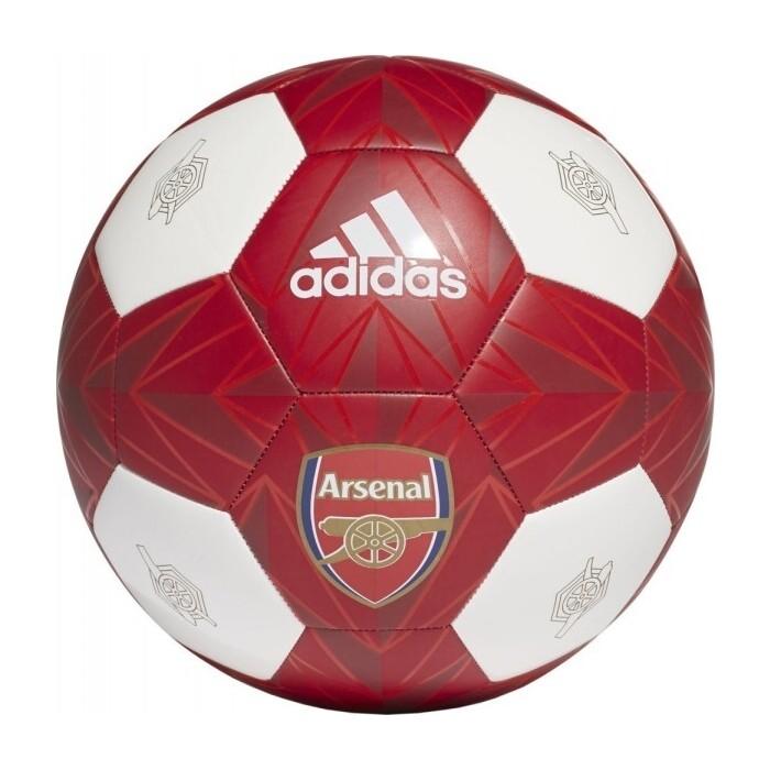 Мяч футбольный Adidas AFC Club FT9092, р. 5, 24 панели, ТПУ, маш.сшивка, красно-белый