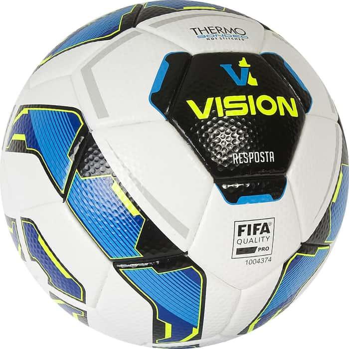 Мяч футбольный Vision Resposta 01-01-13886-5, р.5, FIFA Quality Pro, PU-MF, термосшивка, бел-мультикол