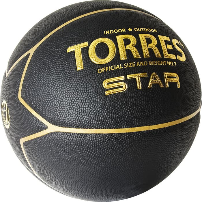 Мяч баскетбольный Torres Star B32317, р.7