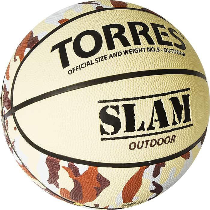 Мяч баскетбольный Torres Slam B02065, р.5