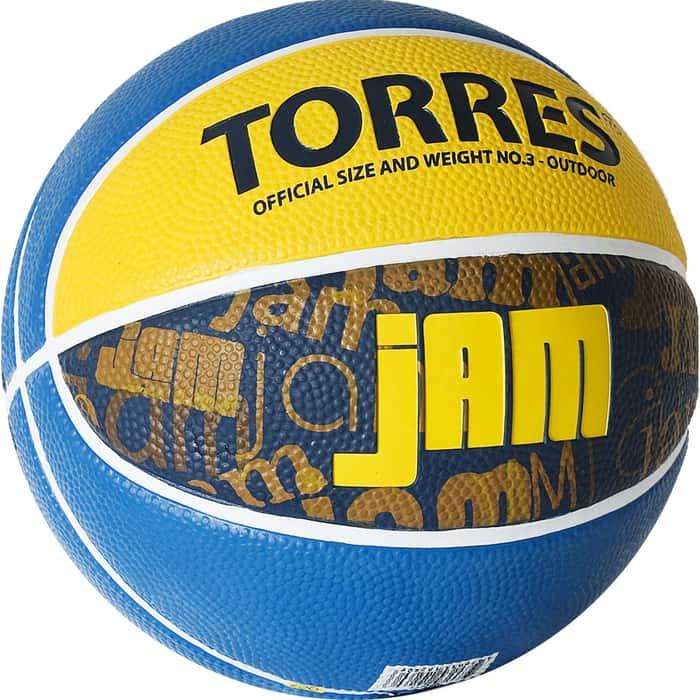 Мяч баскетбольный Torres Jam B02043, р.3