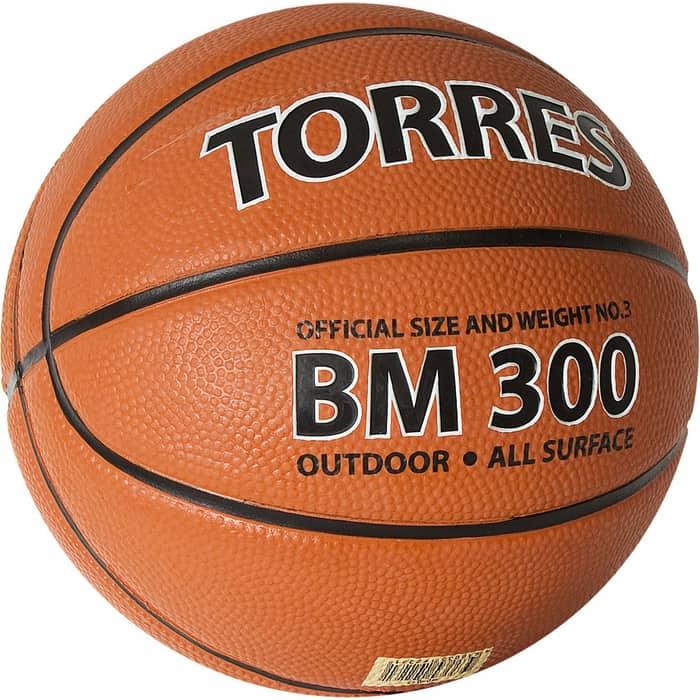Мяч баскетбольный Torres BM300 B02013, р.3