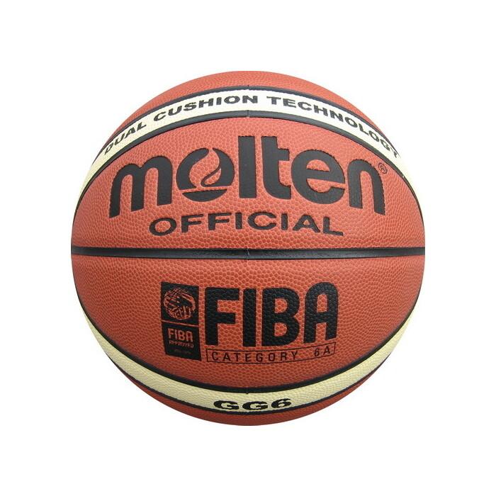 Мяч баскетбольный Molten BGG6X р.6, FIBA Appr