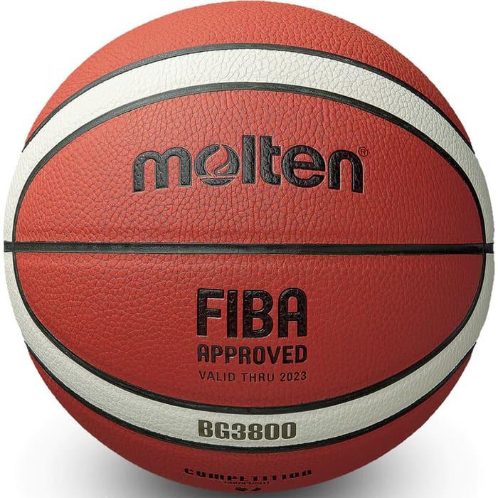 Мяч баскетбольный Molten B6G3800 р.6, FIBA Appr