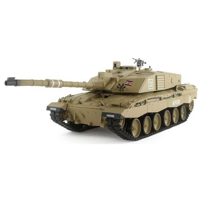 Радиоуправляемый танк Heng Long British Challenger 2 V6.0 2.4G масштаб 1:16 - 3908-1