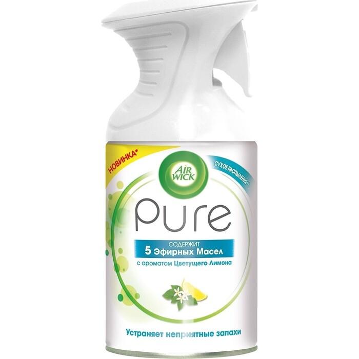 Освежитель воздуха Air Wick Pure Цветущий лимон 5 Эфирных Масел 250 мл