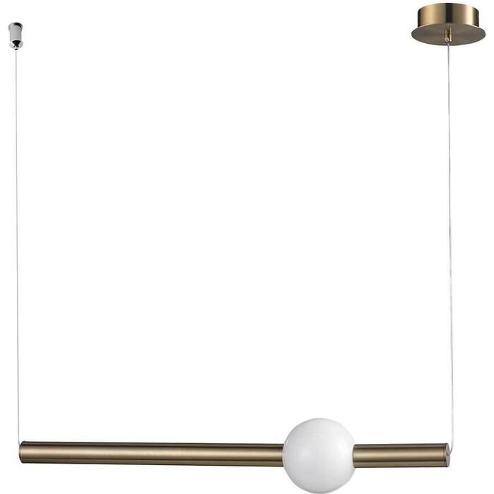 Светильник Lumien Hall Подвесной светодиодный Greniya LH8023/1PC-GD-WT