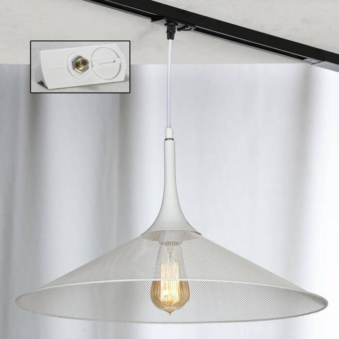 Светильник Lussole Трековый однофазный Loft Track Lights LSP-9812-TAW