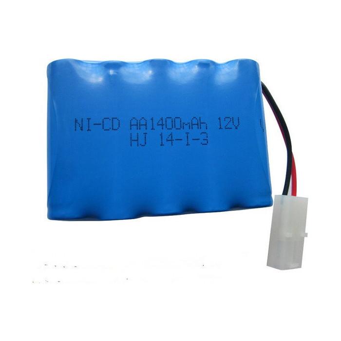 Аккумулятор LJ Battery Ni-Cd 12v 1400mah Tamiya - NICD-12R-1400-TAMIYA