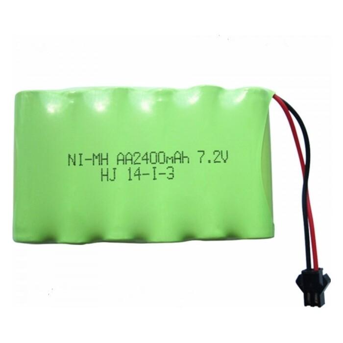 Аккумулятор LJ Battery Ni-Mh 7.2v 2400mah YP - NIMH-72F-2400-YP
