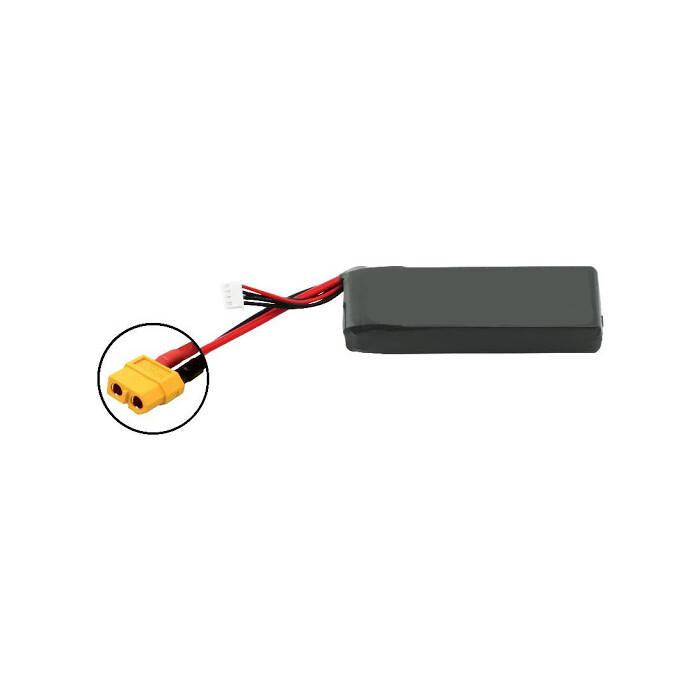 Аккумулятор Vant Black Li-Po 1800 mAh 30C 3S 11.1V XT60 Soft case - VTB-1800-30C-3S-XT60