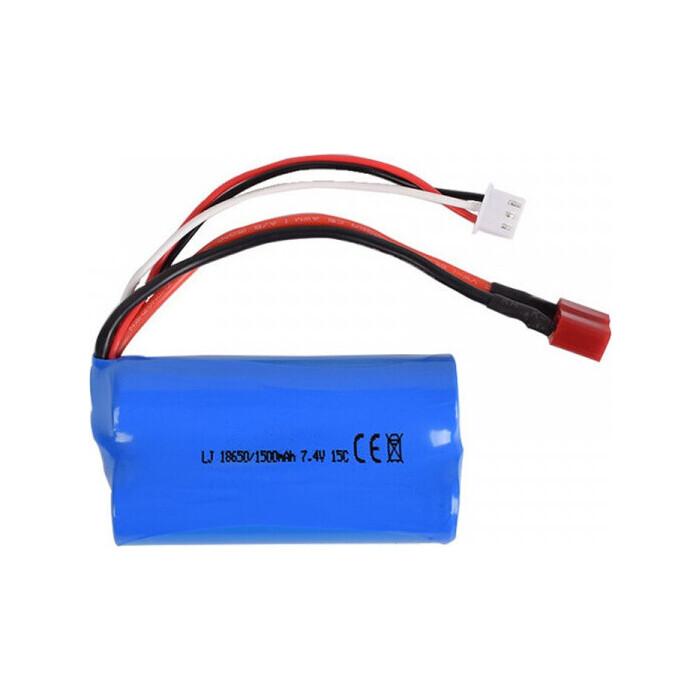 Аккумулятор Remo Hobby 1/16 18650 Li-Ion 7.4V 1500mAh разъем T-PLUG - LI-ION-18650-74-1500-DEANS