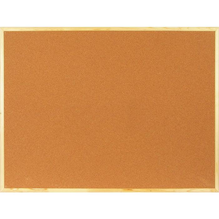 Доска пробковая Attache Economy 90х120 деревянная рама 51860