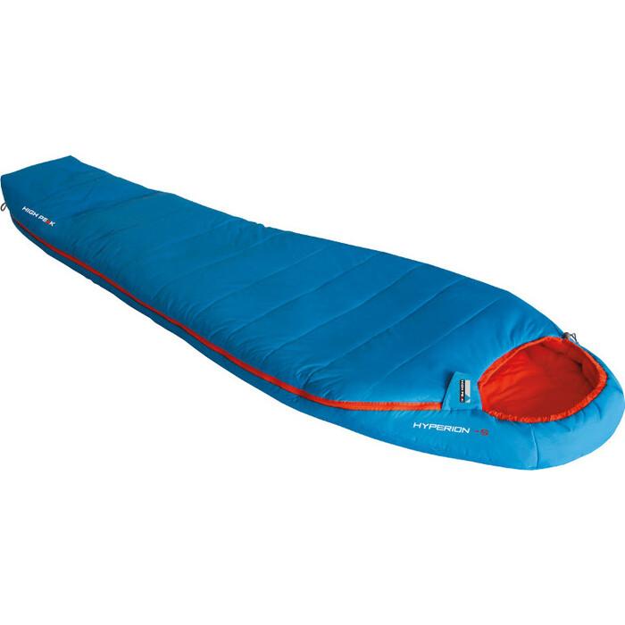Мешок спальный High Peak Hyperion -5 голубой/оранжевый