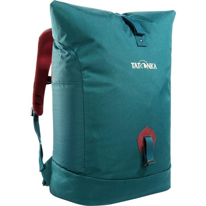 Рюкзак Tatonka GRIP ROLLTOP PACK teal green недорого