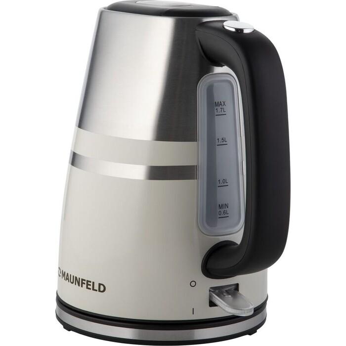 Фото - Чайник электрический MAUNFELD MFK-622BG чайник электрический maunfeld mfk 622ch