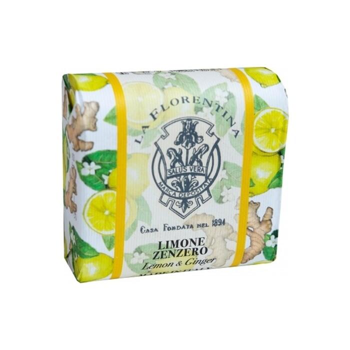 Мыло La Florentina Фруктовые Сады Lemon & Ginger / Лимон и Имбирь 106 г